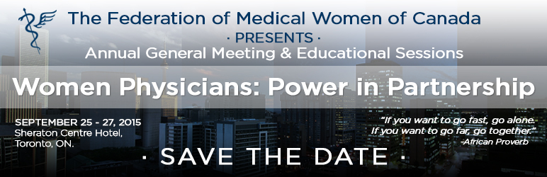 Save the Date - FMWC AGM 2015